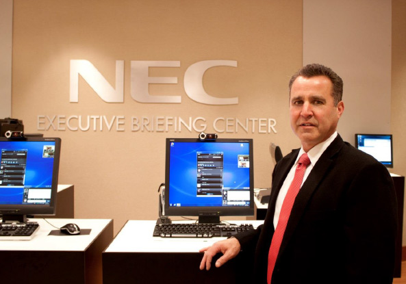 Larry Levenberg, Vice President of Sales and Marketing at NEC Corporation of America