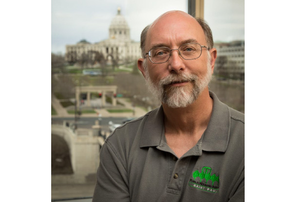 St. Paul Housing Agency's IT Manager, Rick Jordan